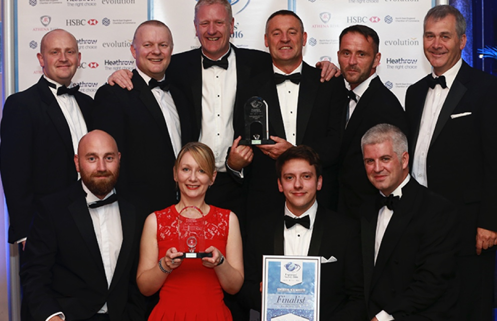 Proud winners of the NE England Export Awards
