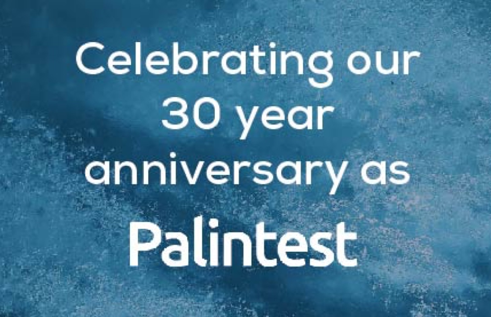 Celebrating 30 years as Palintest