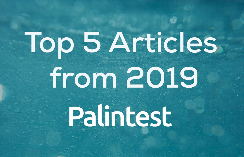 Palintest top 5 articles of 2019