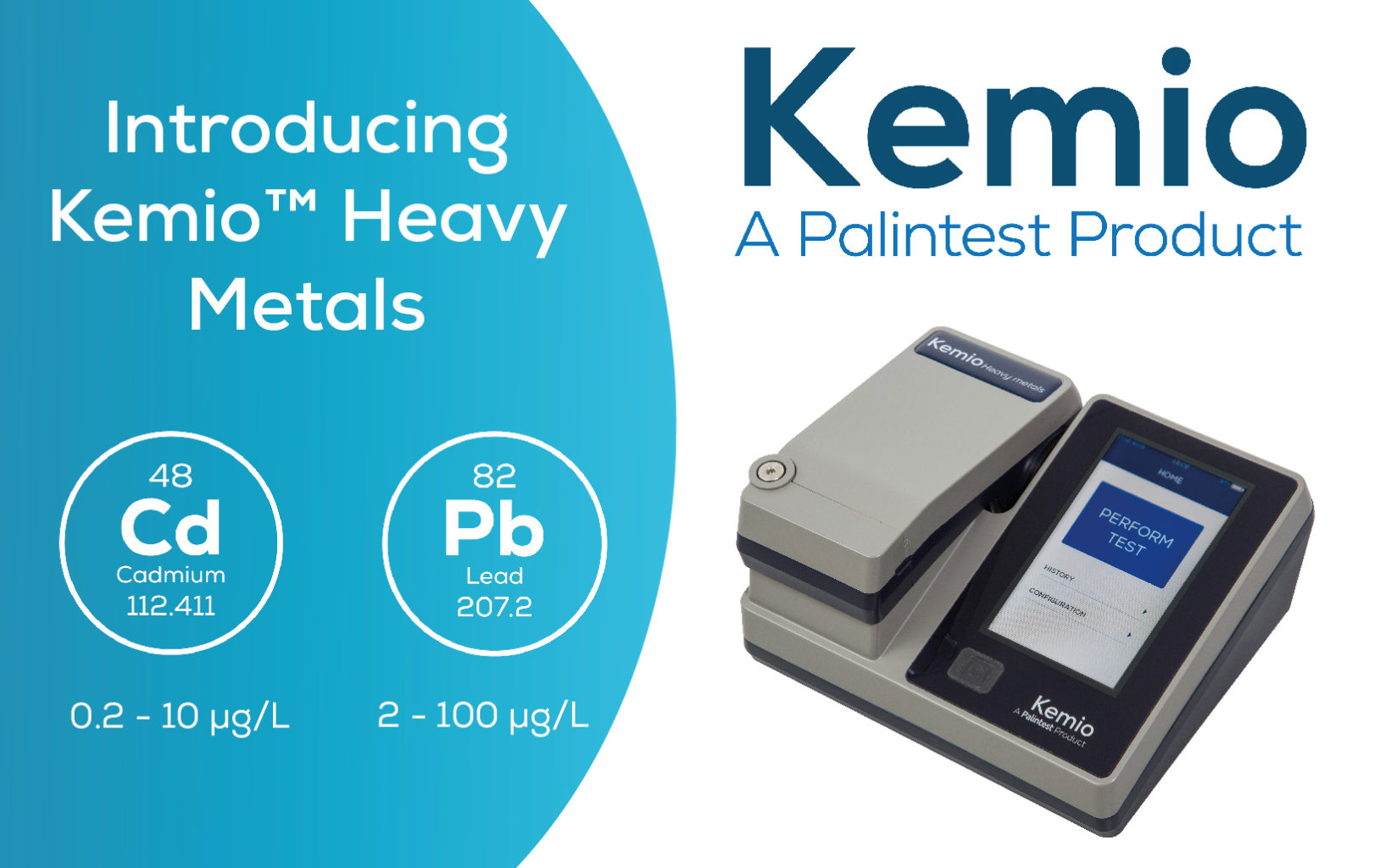 Introducing Kemio™ Heavy Metals