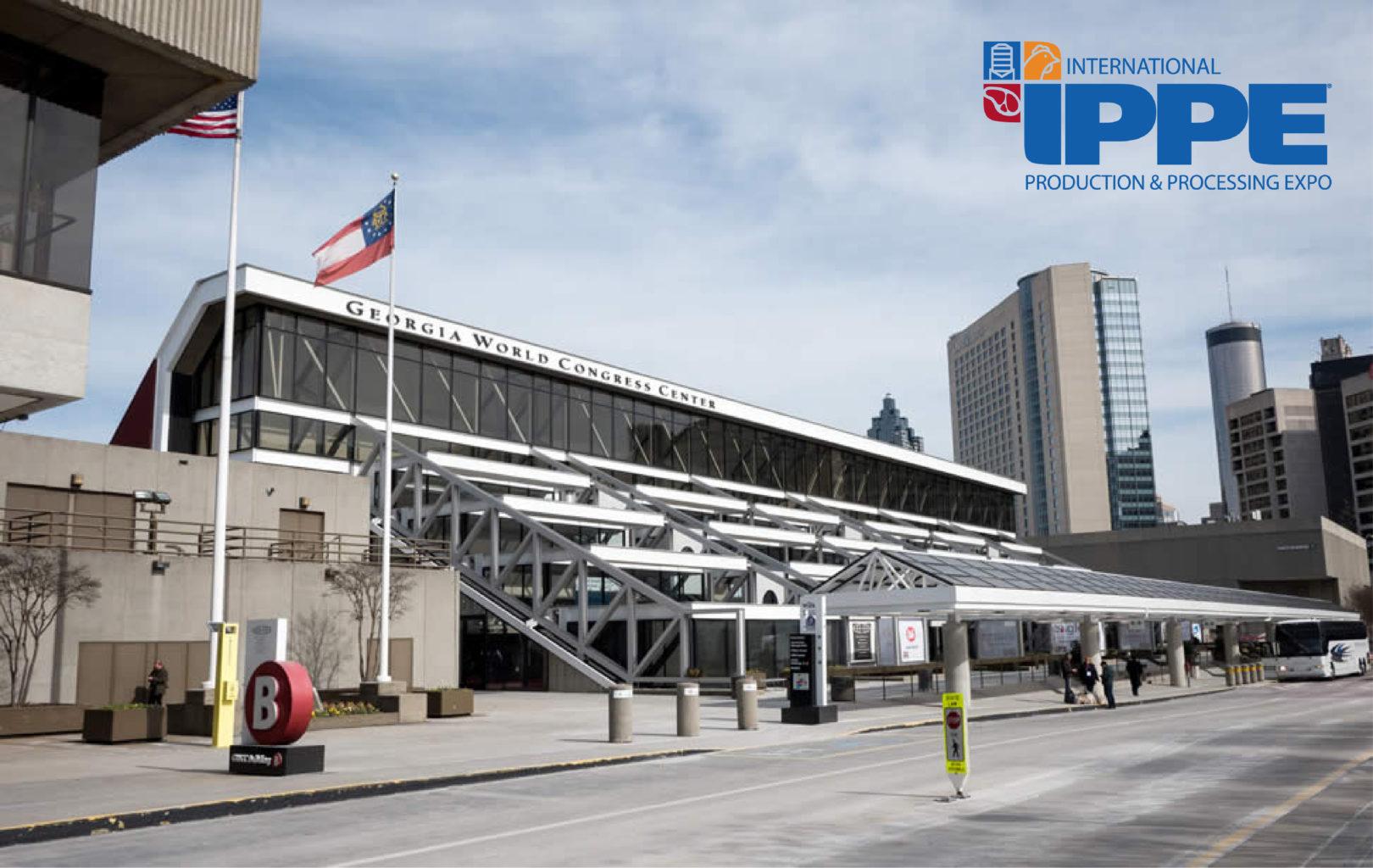 Visit the team at IPPE, Atlanta