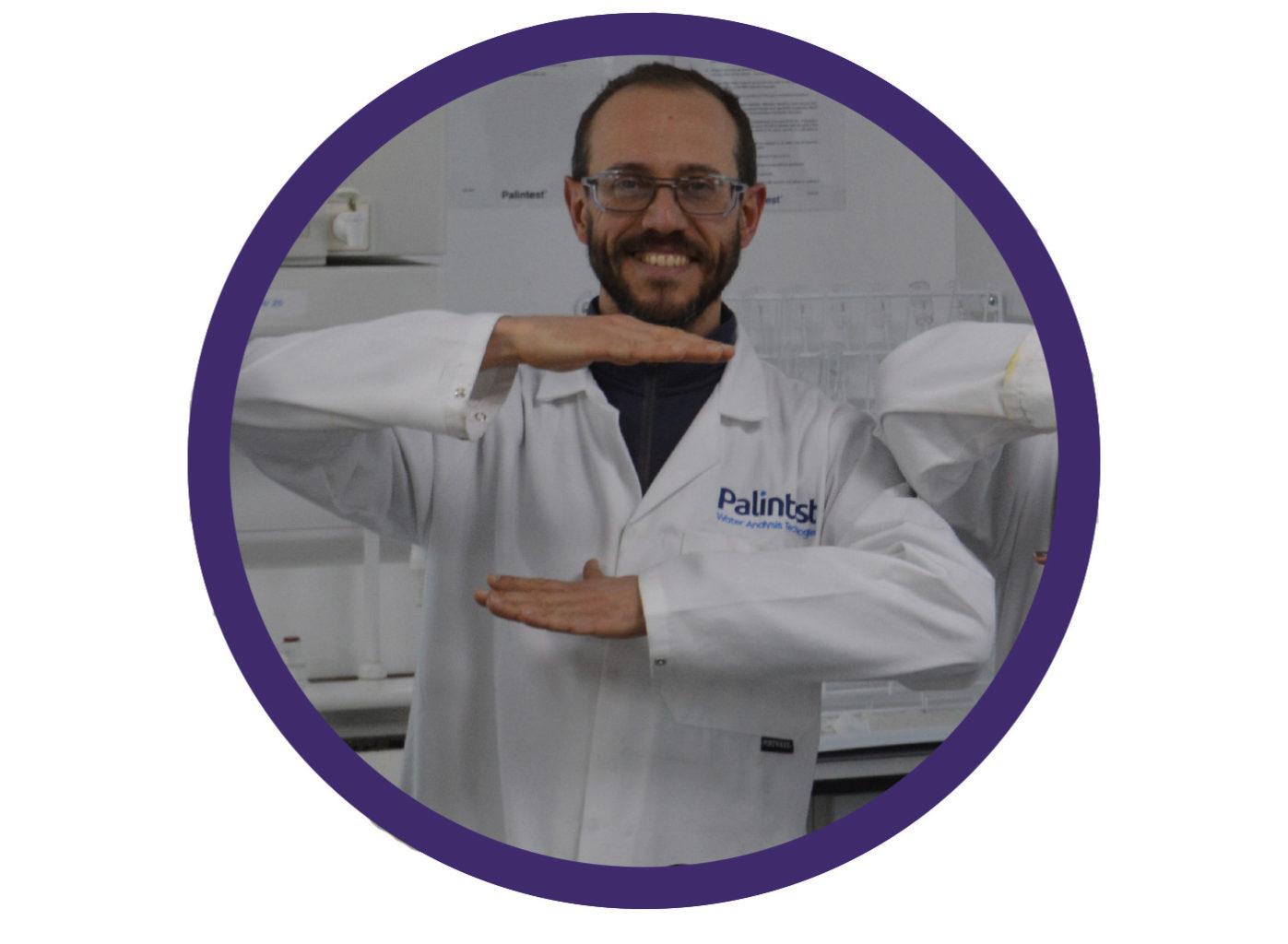 <h3>Antonio, R&D Chemistry Manager </h3>