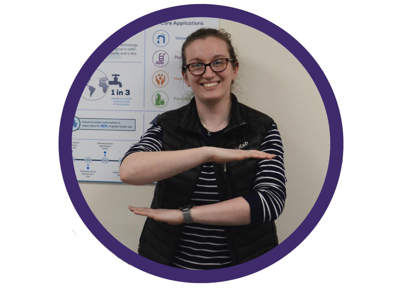 <h3>Hannah, Applications Scientist</h3>