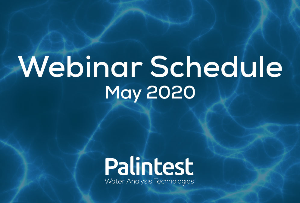 Sign up for a Palintest Webinar