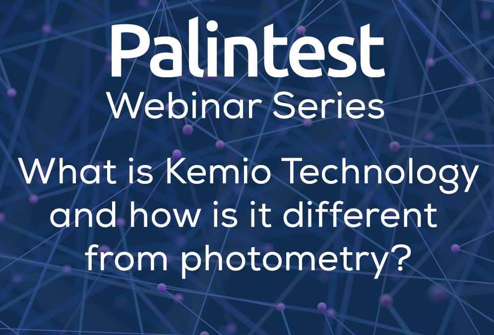 Webinar: What Is Kemio Technology And How Is It Different From Photometry?